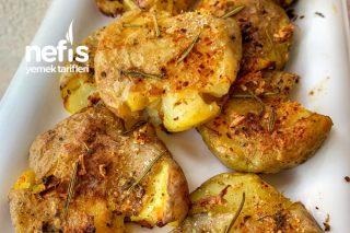 Fırında Baby Patates (Dikkat Bağımlılık Yapar:) Tarifi