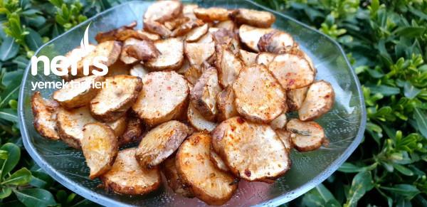 Her Yiyen Patates Sandı Fırında Yer Elması