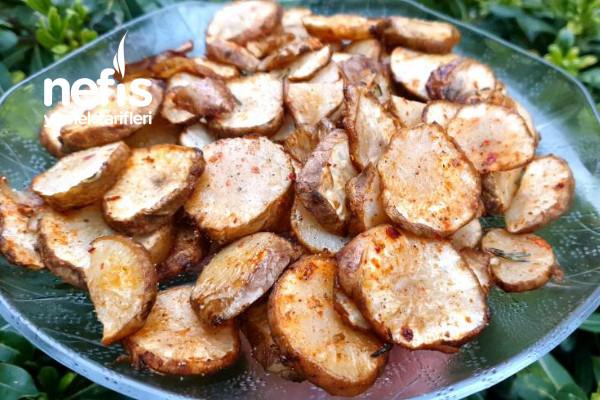 Fırında Yer Elması (Her Yiyen Patates Sandı)(Videolu)
