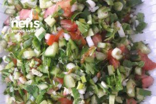 Kaşık Salatası Ramazan Sofrasının Baş Tacı Tarifi