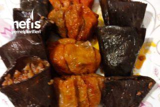 Kuru Patlıcan, Biber Dolması (Gaziantep Usulü) Tarifi