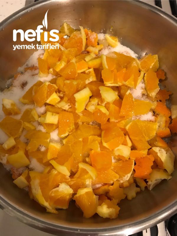 Nefis Aromasıyla Portakal Ve Kabuğu İle Karışık Reçel