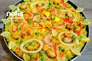 Paella (İspanyol Mutfağı) Tarifi