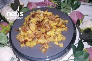 Sahura Patates Soğan Kavurması Tarifi