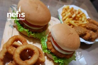 Efsane Zinger Burger Tarifi