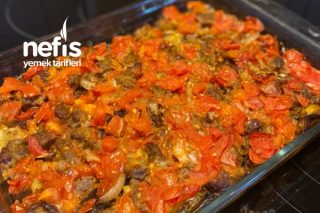 Fırında Sebzeli Et Tava Tarifi