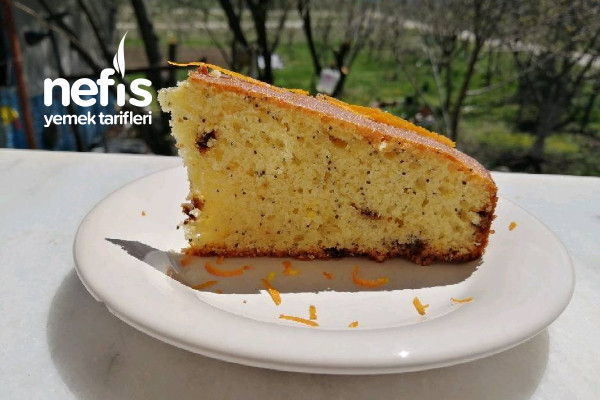 Haşhaşlı Portakallı Kek