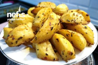 Körili Elma Dilim Patates Tarifi