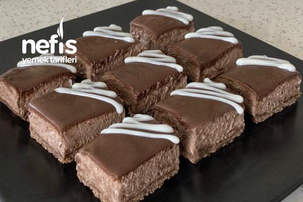 Süt Kutusunda Lokmalık Çikolatalı Mousse (Videolu)
