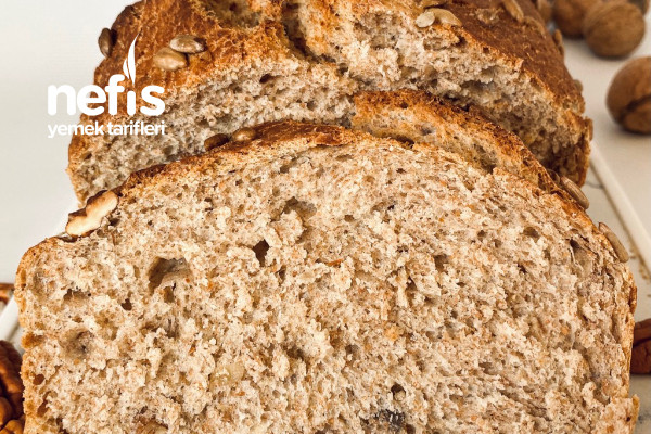 Tam Buğday Unlu Cevizli Ekmek