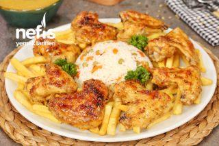 Özel Sosuyla Fırında Tavuk Kanat (videolu) Tarifi