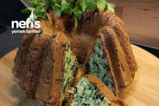 Sahur Masalarına Çok Yakışacak Ispanaklı Tuzlu Kek Tarifi