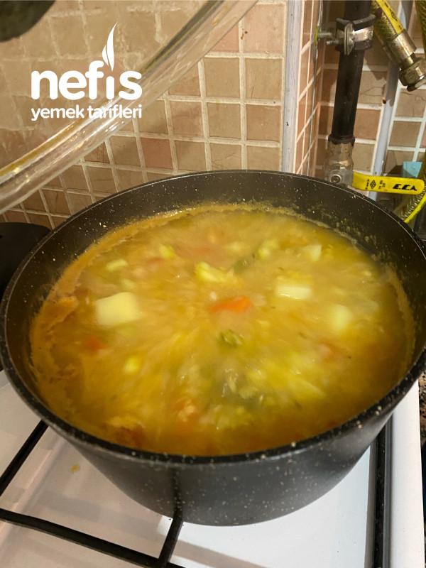 Sebzeli Mercimek Çorbası