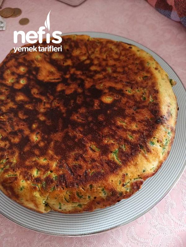 Tavada Ispanaklı Börek