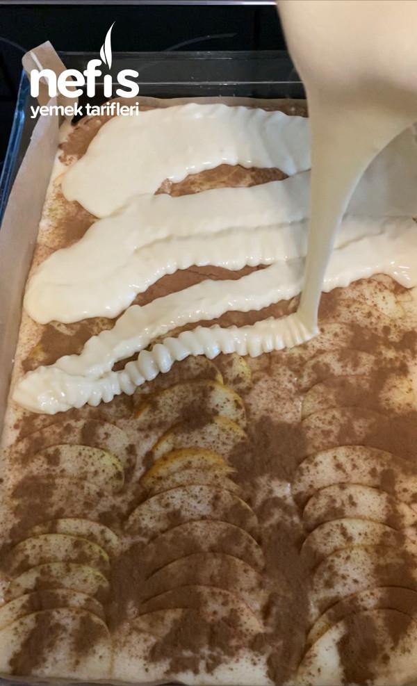 Elmalı Pasta (İnanılmaz Lezzetli)