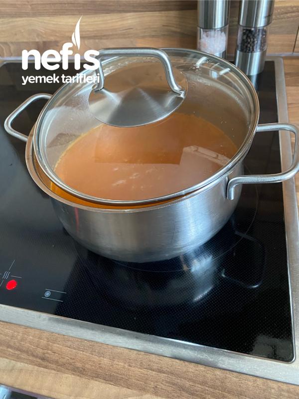 Pirinçli Sütlü Domates Corbası