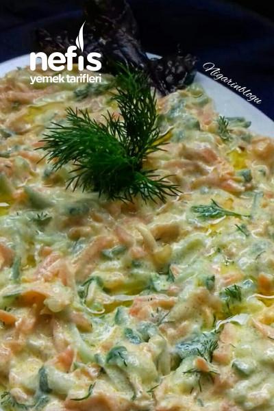 Salatlıklı (Havuclu Dereotlu Tarator)