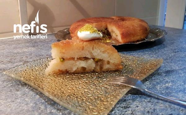 Şamfıstıklı Ekmek Kadayıfı (Videolu)