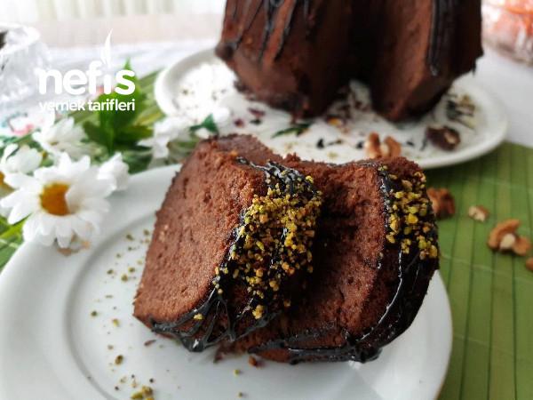 Cevizli Portakallı Kakaolu Kabardıkça Kabaran Sulu Kek