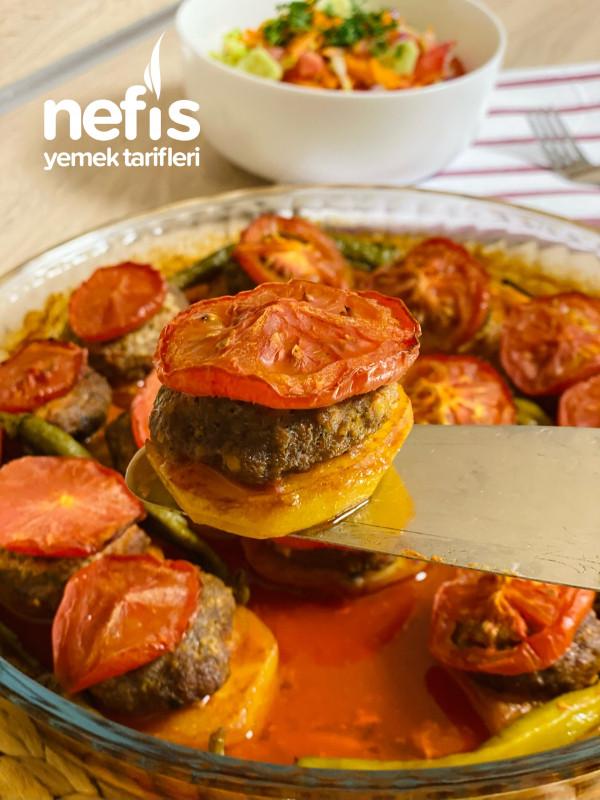 Fıında Köfte Patates (Muhteşem Bir Ana Yemek)