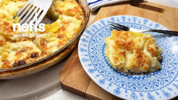Fırında Kremalı Patates/ Nefis Patates Graten Tarifi