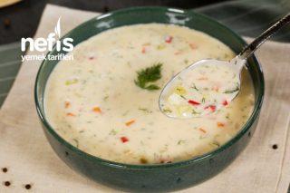 Tadına Doyamayacağınız Kremalı Sebze Çorbası (videolu) Tarifi