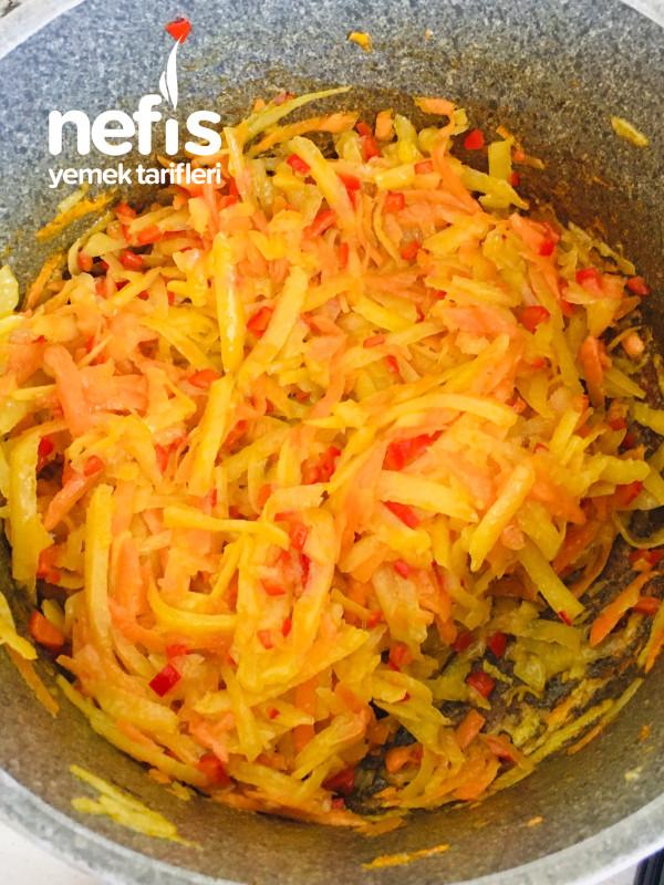 Sebzeli Çorba (Terbiyeli Sebze Çorbası)