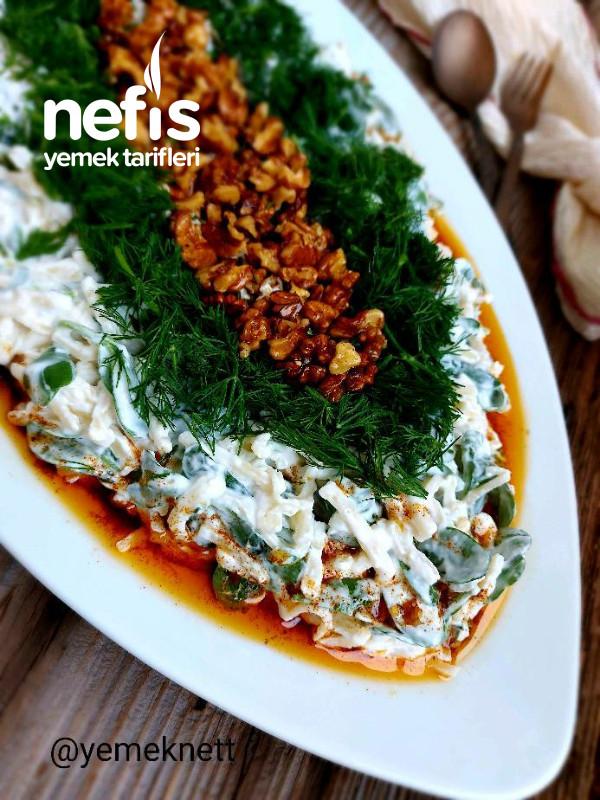 Semizotlu Erişte Salatası