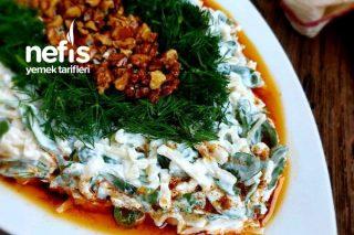 Semizotlu Erişte Salatası Tarifi