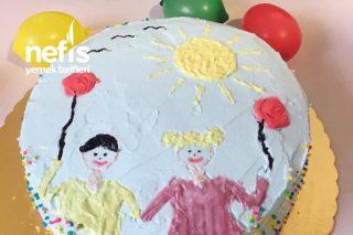 23 Nisan Pastası Tarifi