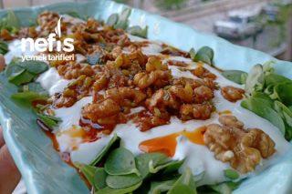 Semizotlu Cevizli Salata Tarifi