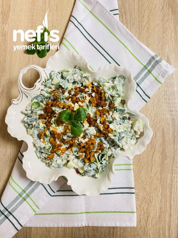 Buğdaylı Semizotu Salatası