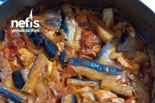 Patlıcanlı Tavuk Yemeği Tarifi