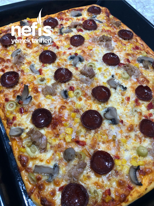 Pizza (Lezzeti Sosunda Saklı)
