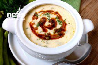 Taze Bakla Çorbası (Yoğurtlu) Tarifi