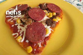 Yulaf Pizza Tarifi