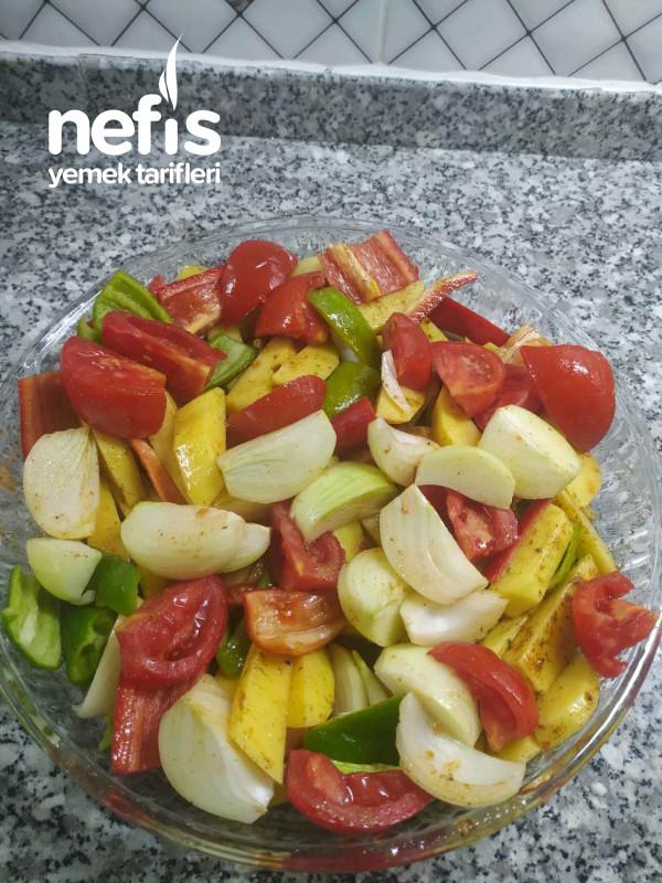 Fırında Sebze Yemeği