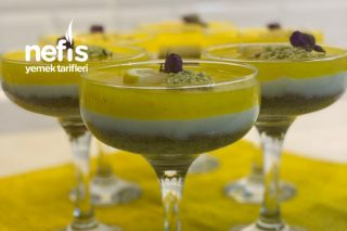 Limon Kokusuyla Harika Görünüşüyle Limonlu Kup Tarifi