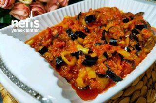 Soslu Patlıcan Kızartması (Balcan Öldürmesi) Tarifi