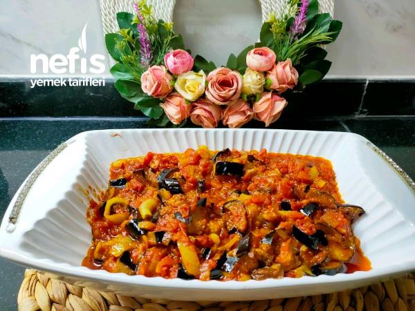 Soslu Patlıcan Kızartması(balcan Öldürmesi)
