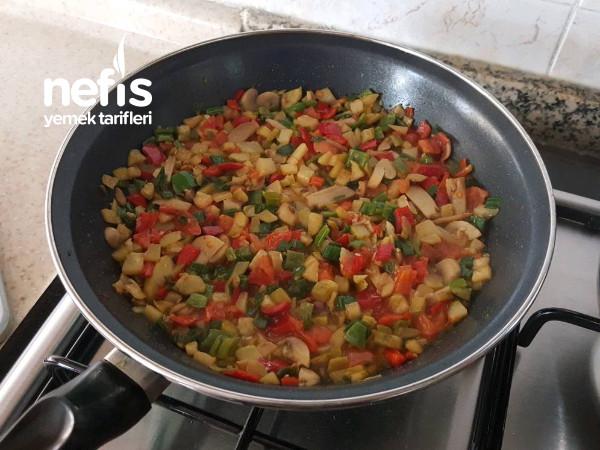 Vitamin Deposu Sebzeli Omlet