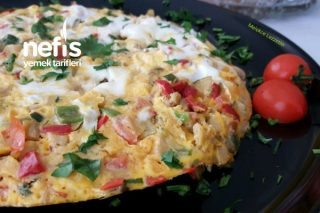 Vitamin Deposu Sebzeli Omlet Tarifi