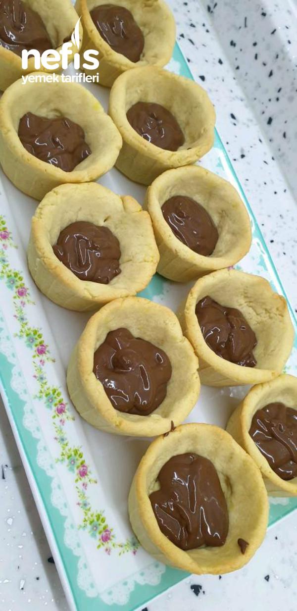 Çikolatalı Çilekli Tart