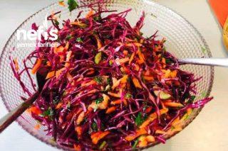 Her Yemeğin Yanında Giden Salata Tarifi