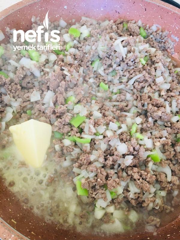Kıymalı Çanak Börek (Lahmacun Börek)