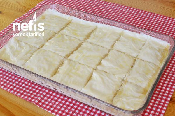 Laz Böreği (Baklavalık Yufkadan)