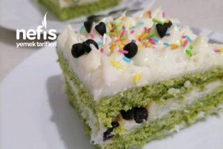 Ispanaklı Yaş Pasta ( İlkbahar Gibi) Tarifi