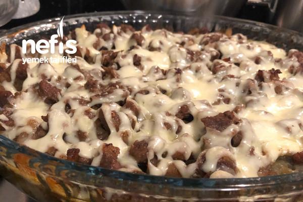 Pratik Bir Ana Yemek Köz Patlıcanlı Borcam Kebabı