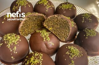 Çikolatalı Antepfıstıklı Toplar Tarifi