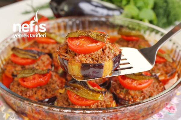 Fırında Kıymalı Patlıcan (videolu)